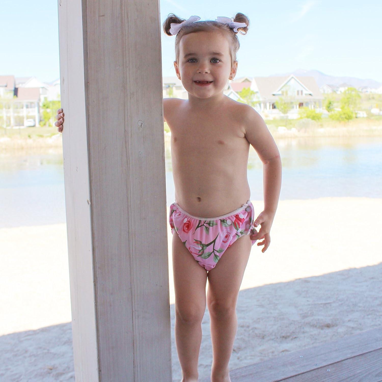Swim Diaper Solid Baby Banz Baby Girls UPF 50