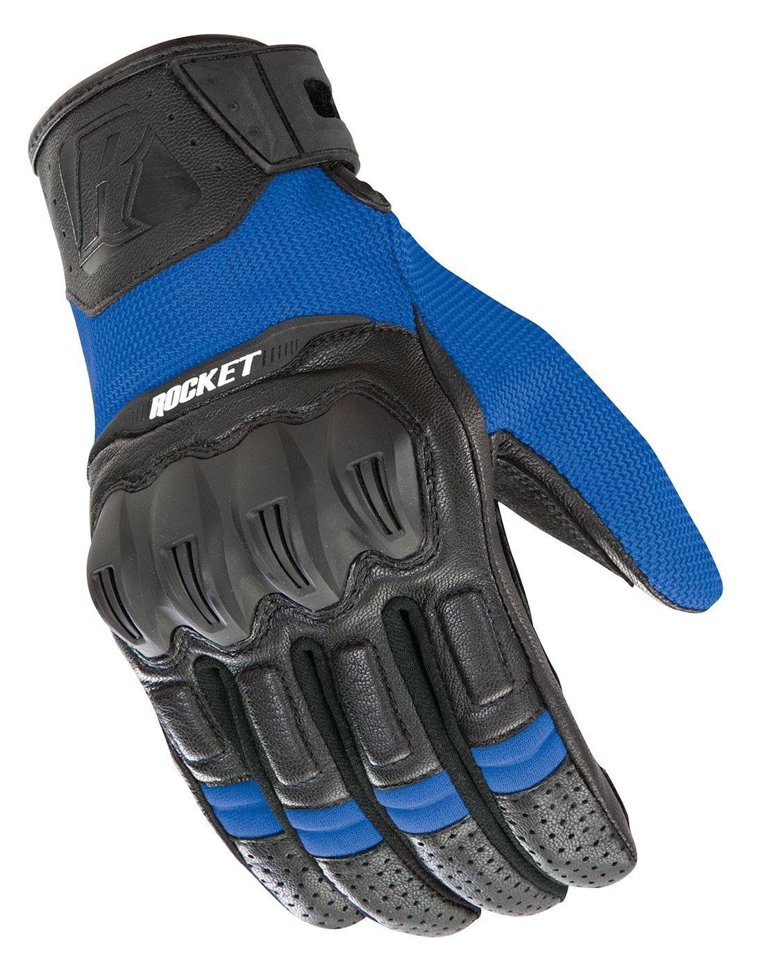 Joe Rocket Mens Phoenix 5.1 Hybrid Motorcycle Glove Black, Small