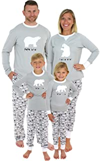 Sleepyheads Holiday Family Matching Polar Bear Pajama PJ Sets