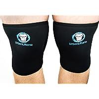 Urban Lifters Knee Sleeves (7mm) Paar. Uitstekende ondersteuning, warmte, compressie en prestatieverbetering voor Squats…