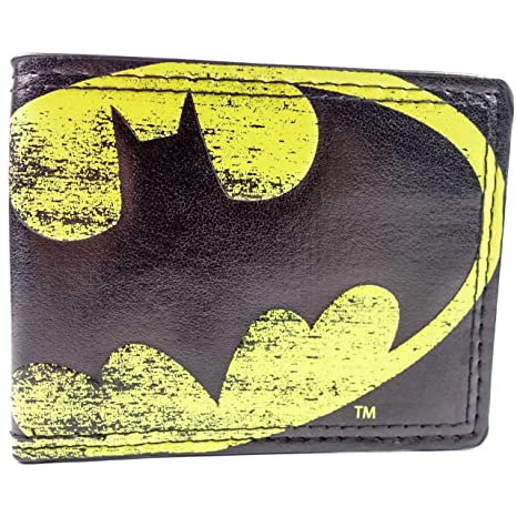Cartera de DC Comics Batman Símbolo de la luz Multicolor