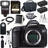 Canon EOS 5DS-R 5DSR DSLR Camera + LPE-6 Lithium Ion Battery + Canon 100ES EOS shoulder bag Bundle 3