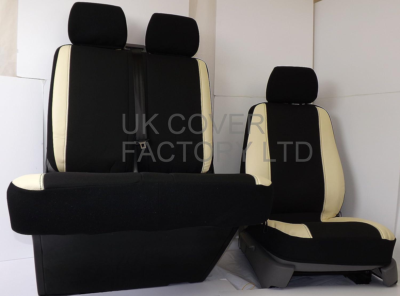 Misura rivestimenti coprisedili VW t5 TRANSPORTER conducente /& passeggero 1+1 posti 909