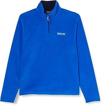 Regatta Men/'s Thompson Lightweight Half-Zip Fleece Blue