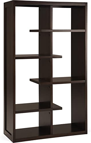 Deal of the week: Simpli Home AXCCMD-12-BR Camden Solid Wood 60 inch x 36 inch Industrial Bookcase
