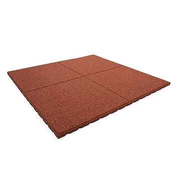 Technikplaza Terrassenplatten Stück In Rot Terrassenfliesen - Terrassenplatten beton 50x50 rot