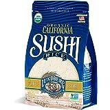 Lundberg Family Farms - Organic California Sushi Rice, Japanese-style Short Grain, Perfectly Sticky, Bulk Rice, Pantry Staple