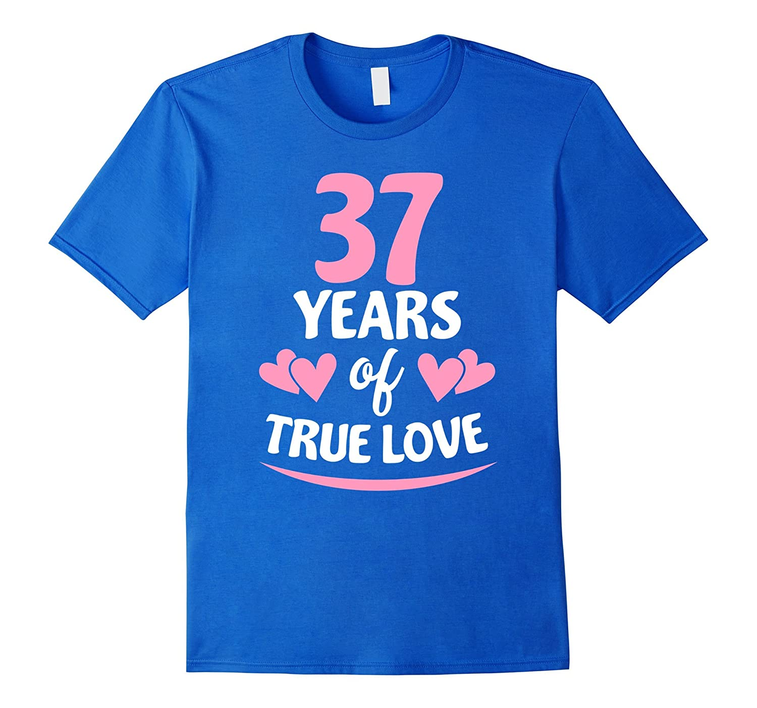 37th Anniversary Gift for Mom and Dad T-Shirt-PL