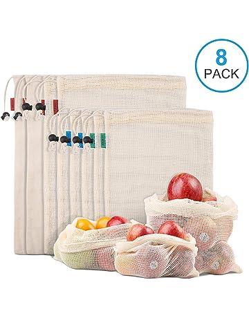 526e280a4 Kupton Bolsas de Comida para Fruta,Juguetes y Libros-Bolsas de Comestibles  Hechas de