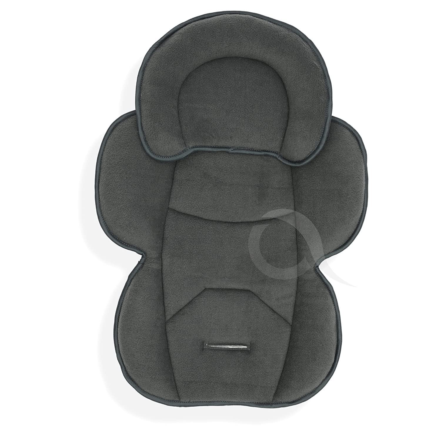 OLO BABY Infant Snuzzler Head Hugger /& Full Body Support Liner for Car Seat Buggy Pushchair charcoal