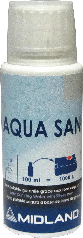 Purificador de agua Aqua San, 100 ml: Amazon.es: Coche y moto
