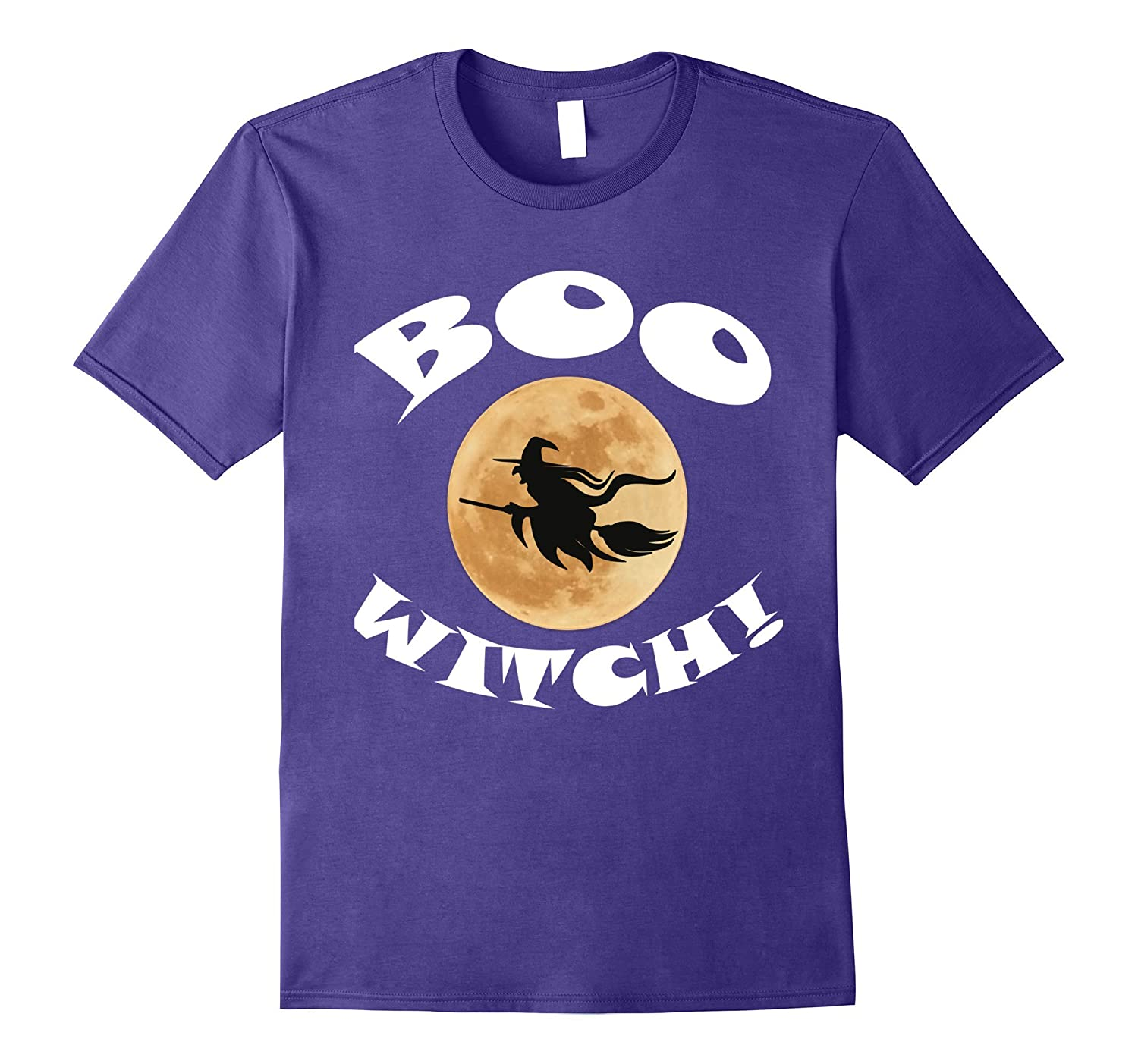 Halloween Boo Witch T-Shirt-TJ