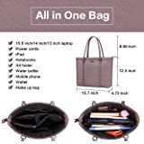 Laptop Bag for Women,15.6 Inch Padded Computer Bags