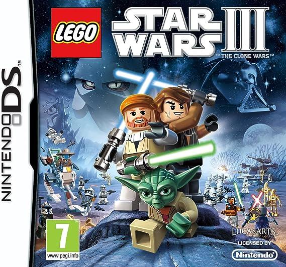 LEGO Star Wars 3: The Clone Wars (Nintendo DS) [Importación ...