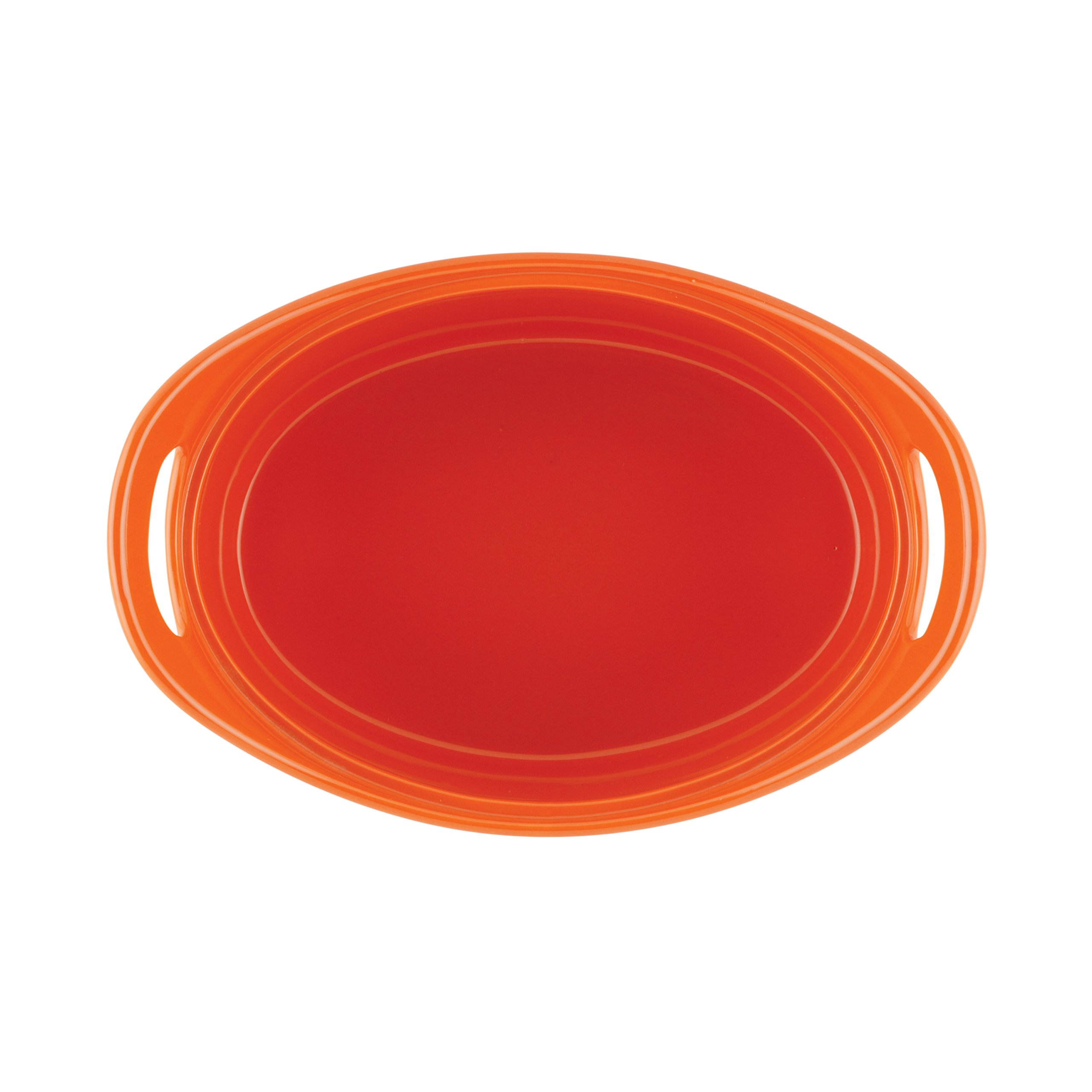 Rachael Ray Stoneware 1.25- and 2.25-Quart Bubble & Brown Oval Baker Set, Orange by Rachael Ray (Image #5)