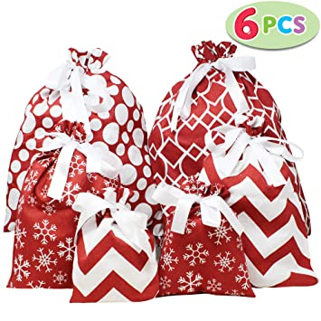 HOLIDAY GIFT BAG 6 PACK VALUE