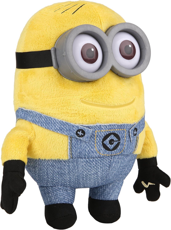 Simba 6305873098 - Minions Funktionsplüsch Dave 22 cm gelb