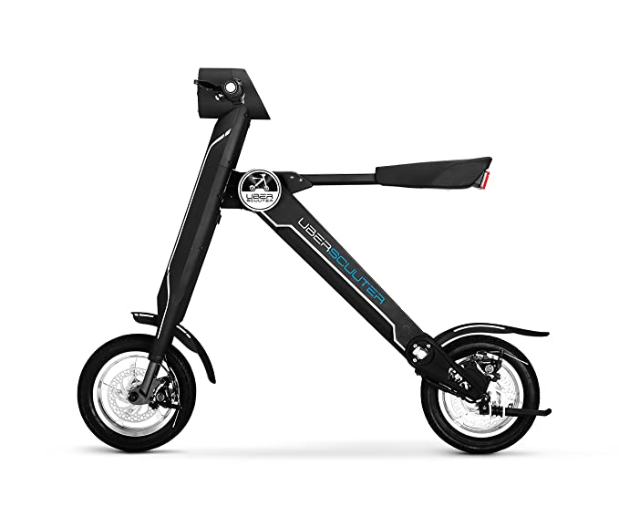 Amazon.com: UBERSCUUTER The Uber Scuuter Plus - Bicicleta ...