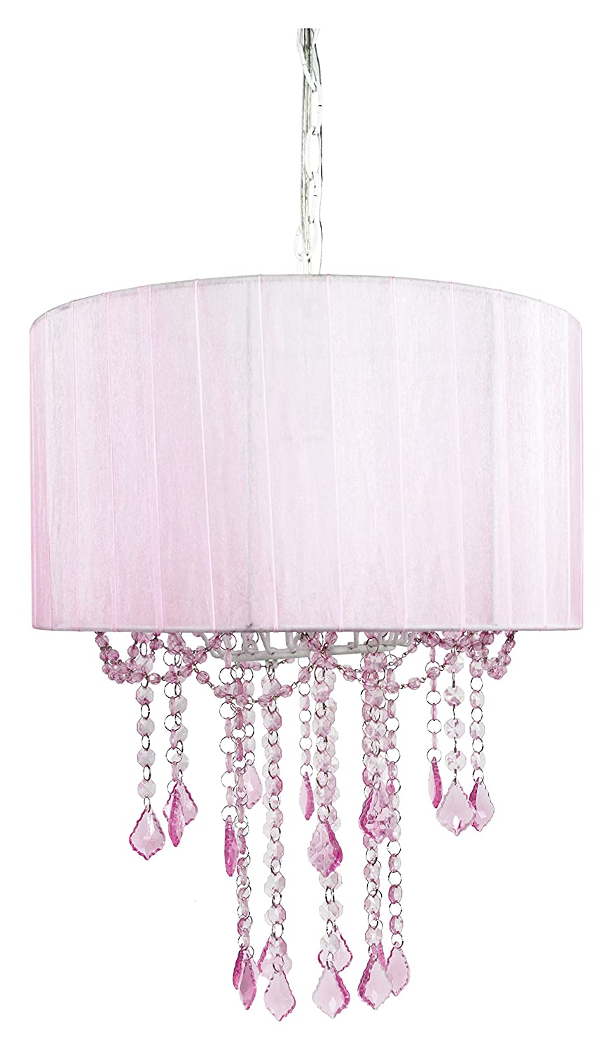 simple girl chandelier nursery baby awesome about for room home ideas