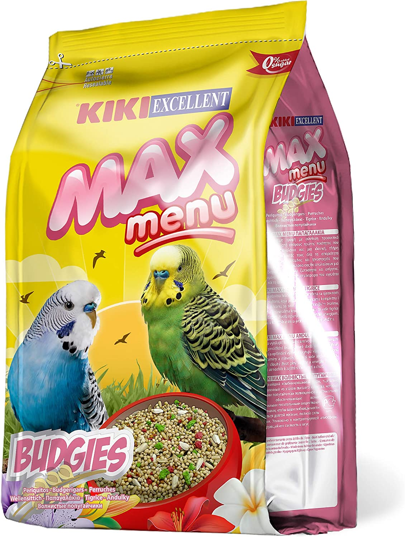 Kiki Max Menu - Alimento Completo para Periquitos, 1 kg