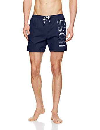 97aba5fea7 Amazon.com: Hugo Boss Boss Swim Short Octopus In Black: Clothing