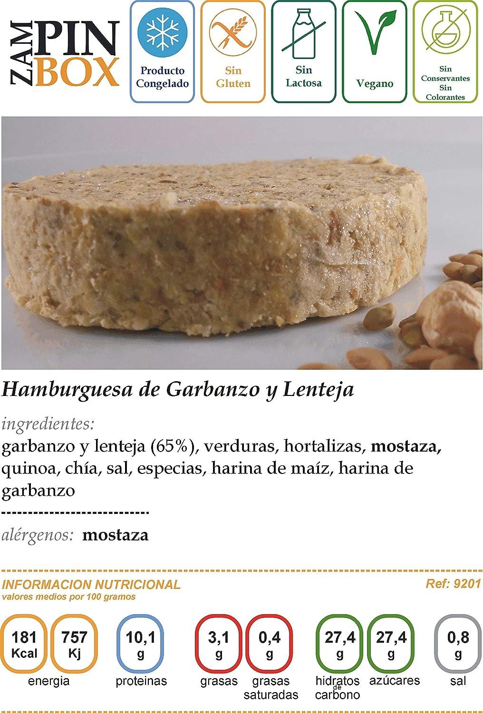 Hamburguesas Veganas de Legumbres (20 uds): Amazon.es ...