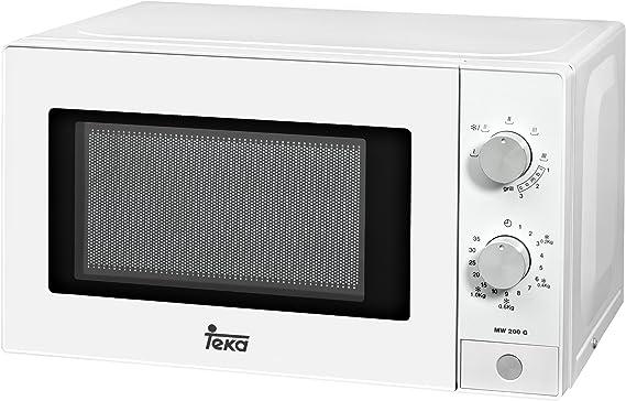 Teka - Microondas Mw200G, 20L, 1050W/700W, Congrill, Mecánico ...