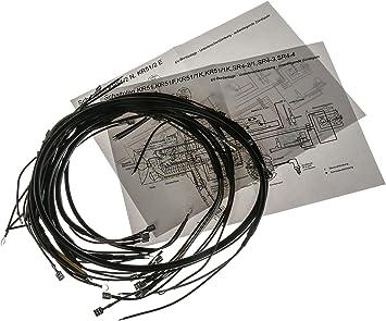 Aka Electric Kabelbaumset Basisausstattung Mit Schaltplan Für Simson Kr51 Schwalbe Sr4 2 Star Sr4 3 Sperber Sr4 4 Habicht Auto