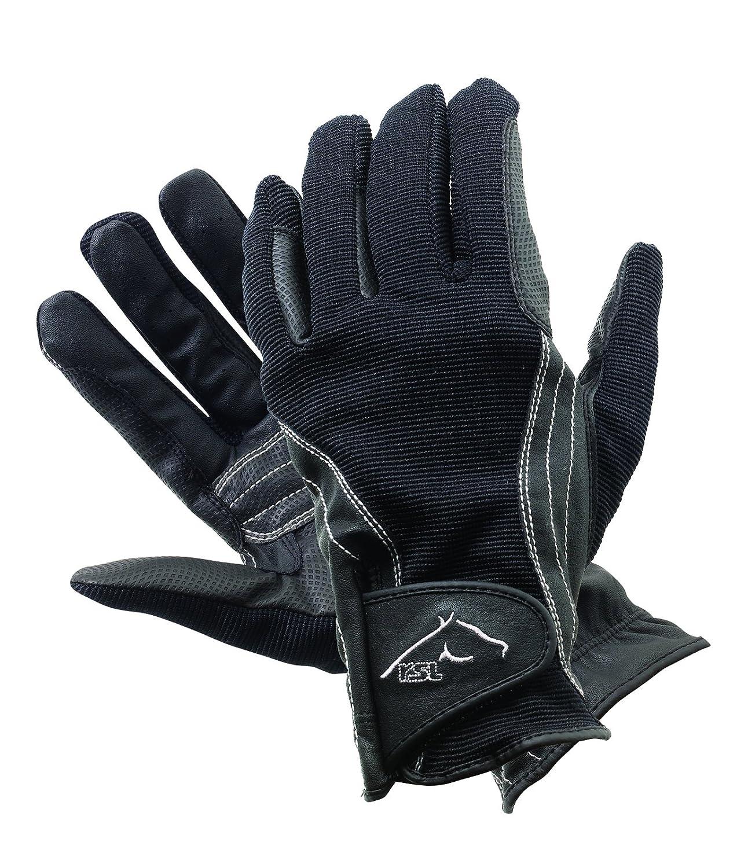 Color:Black Size:Medium 7.5 ER RSL Davos Wntr Rdng Glove