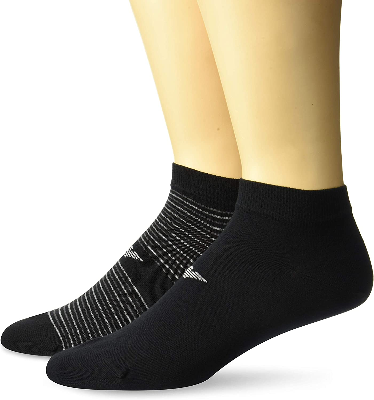 Emporio Armani Men's Basic Short Crew Sock 2-Pack
