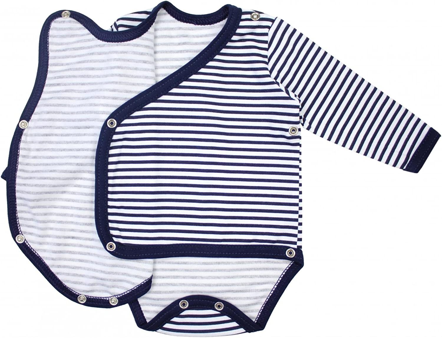 Pack of 5 TupTam Baby Long Sleeve Bodysuit with Side Snap