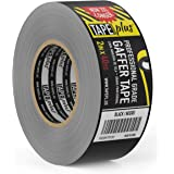 Gaffers Tape - 2 Inch by 40 Yards in Black - Get 33% More! High End Professional Grade - Gaffer Tape is The Perfect…