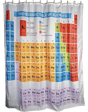 Cortina de ducha Tabla periódica de los elementos - la teoría Género Big bang - inusual