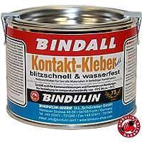 Bindulin Contactlijm, 200 g, professionele verpakking, heldere neopreenlijm, waterbestendig, geurarm voor neopreen, hout…