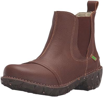 Womens N158 Soft Grain Wood/Yggdrasil Chelsea Boots, Varies El Naturalista