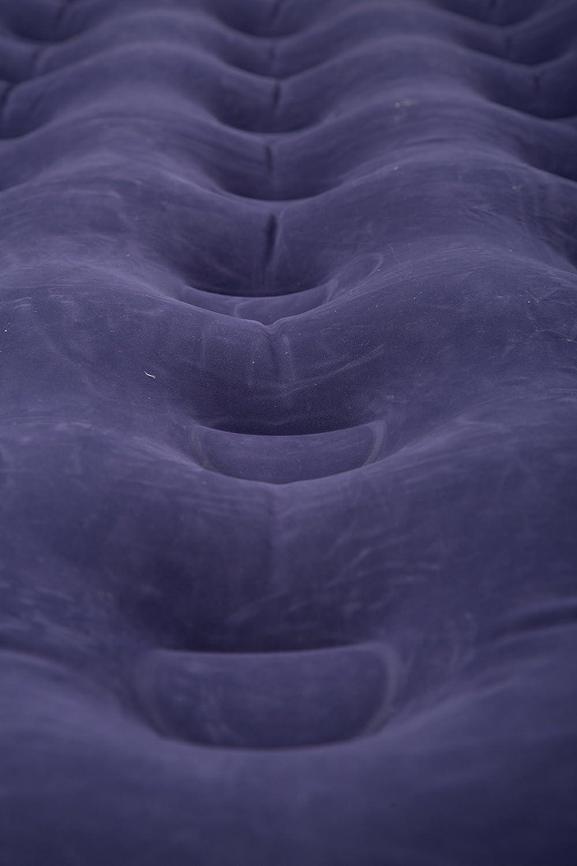 immagazzinaggio Facile Materasso di Aria daccampamento Compatto Mountain Warehouse Airbed affollato Doppio Doppio Tappo della valvola Base Gonfiabile Facile