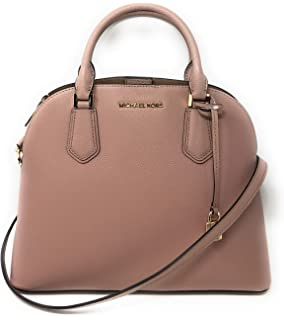 45a4db0f21e4 Amazon.com: Michael Michael Kors Mercer Large Leather Dome Satchel ...