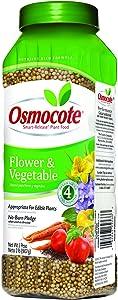 Osmocote 277260 Flower and Vegetable Smart Release Plant Food and Fertilizer (12 Pack), 2 lb