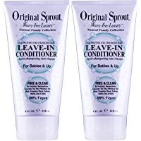 Original Sprout 4 oz Leave-In Conditioner (2 pack)
