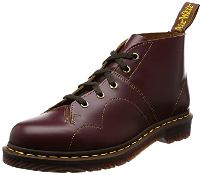eb2d054003624 Dr. Martens Men's Church Vintage Smooth Chukka Boot, Oxblood, 8 B(M) US