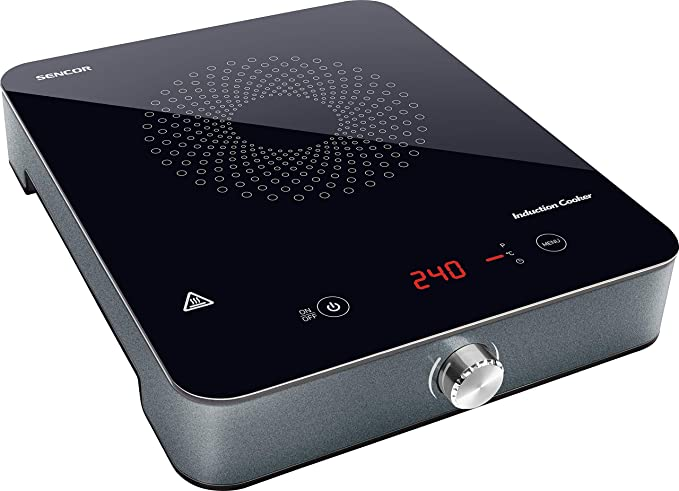 SENCOR SCP 3201GY placa inducción portatil multifunción con ...