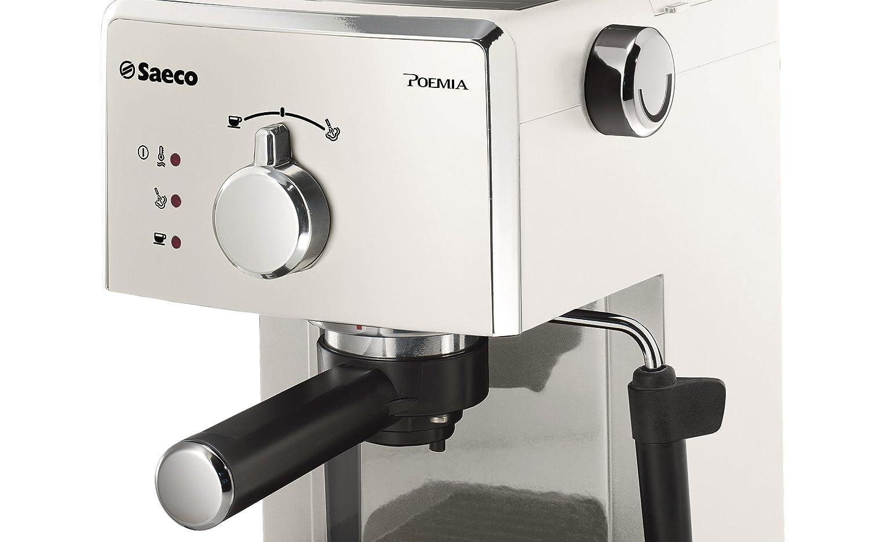 Saeco Poemia - Cafetera espresso manual, para café molido y ...