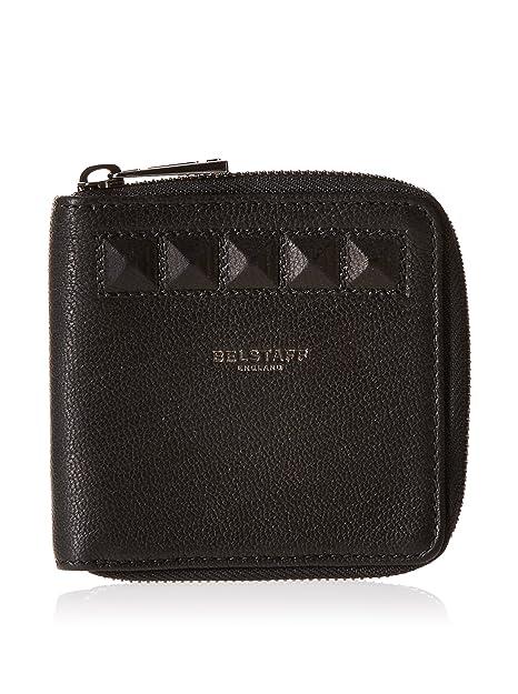 l'ultimo 245a5 2aa40 Belstaff Portafoglio Bradmore: Nero: Amazon.it: Scarpe e borse