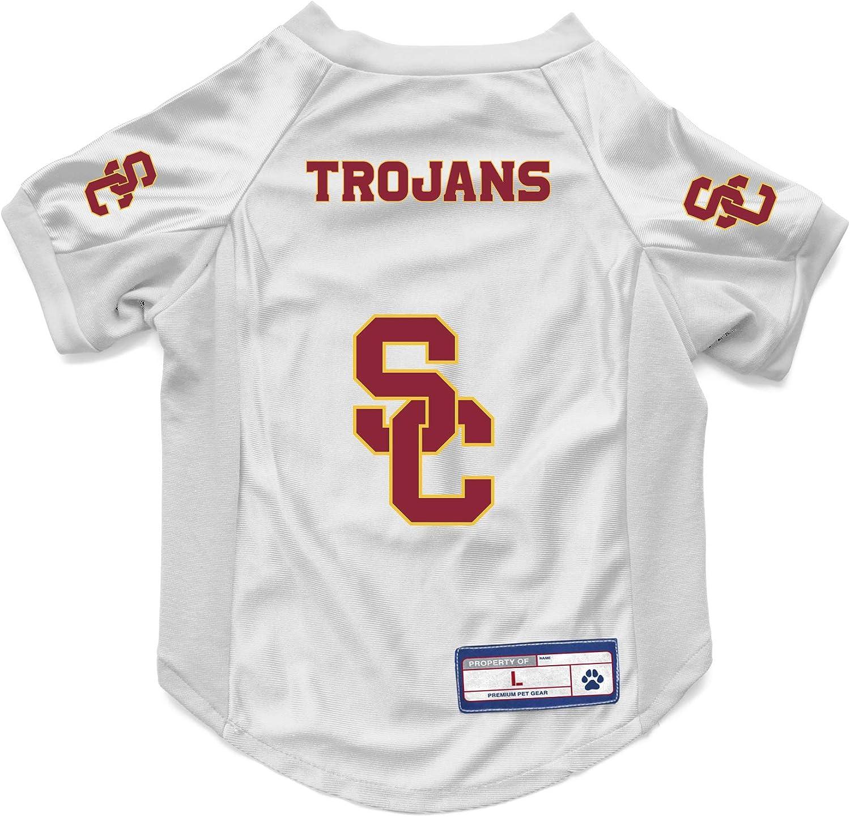 NCAA USC Trojans Pet Stretch Jersey Large