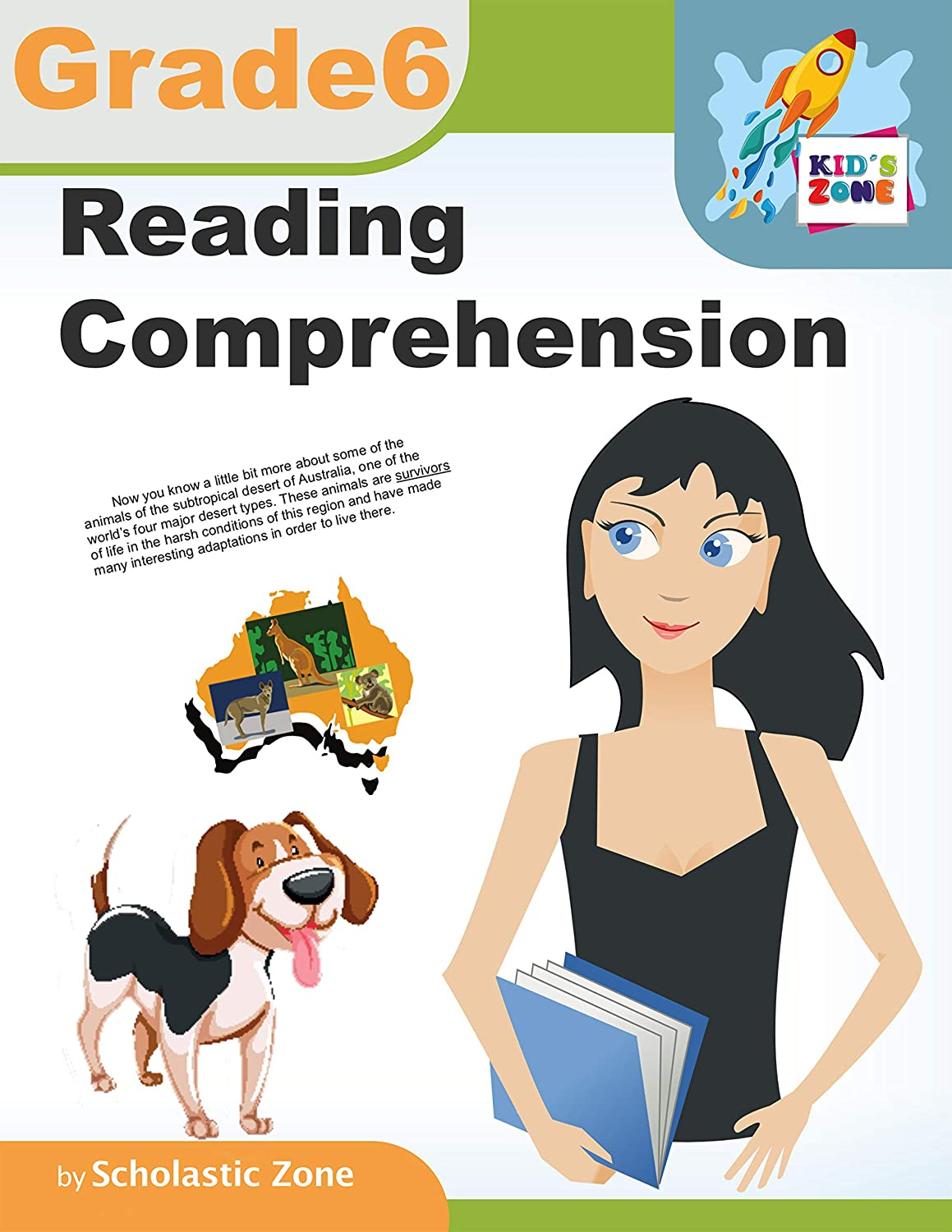 - Reading Comprehension, Grade 6: 100 Write-and-Learn Sight Word