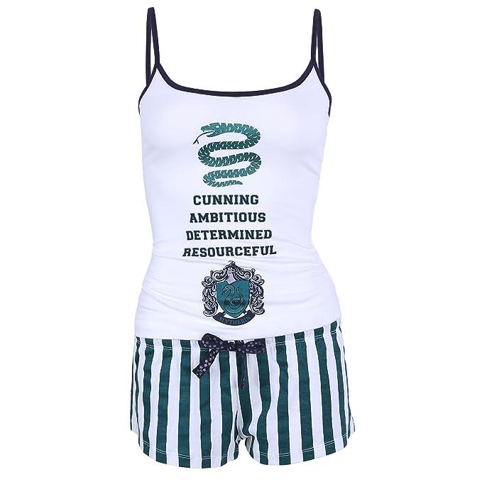 Harry Potter Slytherin - Pijama - para Mujer Verde Verde
