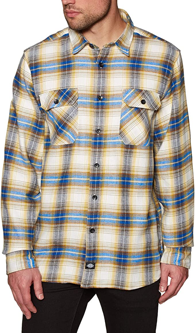 Dickies Canaan Camisa - Amarillo - XX Large: Amazon.es: Ropa
