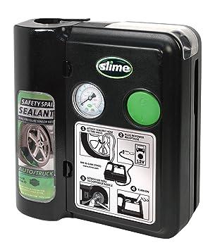 Slime 70005 - Kit de reparación de Neumáticos, Sistema 12-Volt,: Amazon.es: Coche y moto