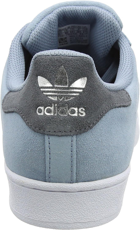 adidas Superstar, Scarpe da Ginnastica Basse Uomo Blu Tactile Blue Onix Onix