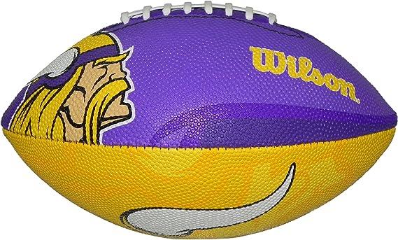 Wilson Football NFL Junior Minnesota Vikings Cowboys Logo - Balón ...